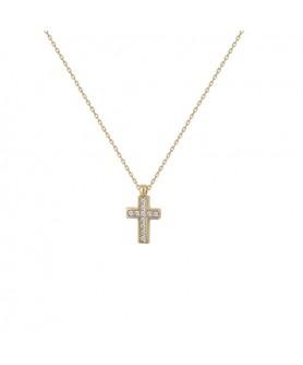 Χρυσός σταυρός 14κ. Κ24.