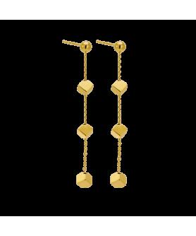 Ασημένια κρεμαστά σκουλαρίκια Vogue 2510201.