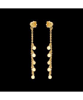 Ασημένια κρεμαστά σκουλαρίκια Vogue 4901201.