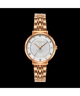 VOGUE Bliss Crystals Rose Gold Stainless Steel Bracelet 2020815351